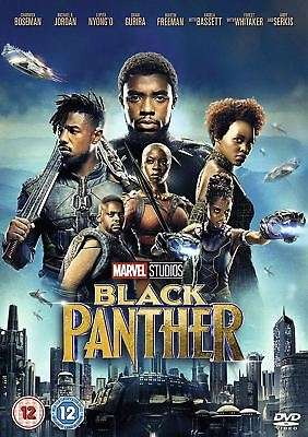 BLACK PANTHER DVD region 2 Brand new sealed pack Free and Fast Dispatch