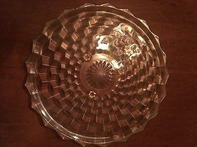 Vintage Antique Cake Tray With Cubist Design, Beautiful, Excellent Condition