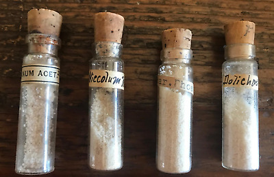 Antique Homeopathic Remedies