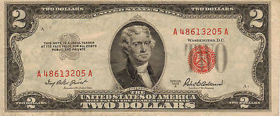 1953-A US Notes, Red Seal, High Grade Note (Z-13)