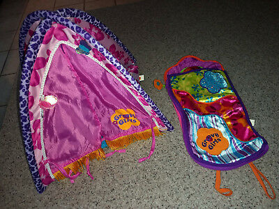 Groovy Girls doll Furniture LOT, Tent and Sleeping Bag Manhattan Toy LOT 1