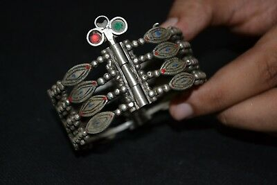 Gorgeous ANCIENT Viking Silver BRACELET MAGNIFICENT CONDITION REALLY RARE TYPE !