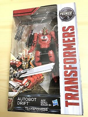 Transformers The Last Knight Movie Deluxe Premier Edition Autobot Drift Figure