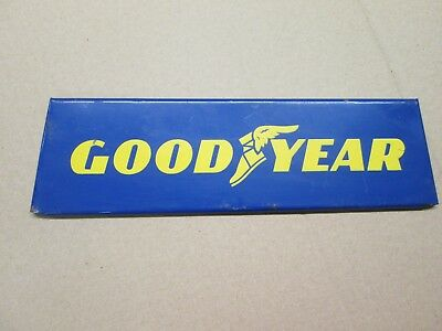 OLD Goodyear Metal Store Tire Advertising Display Stand