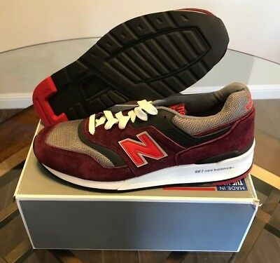 c0496c7aa3c7a ... shopping 200 new balance made in usa classics heritage 997 mens shoes  burgundy size 11 5e4b2