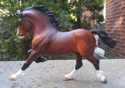 Custom CM Bay Copperfox Welsh Cob Traditional Scale