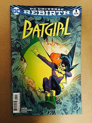 Batgirl #1 Rebirth Dc Comics 1St Print (2016) Variant Cover Batman Nightwing