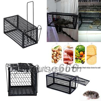 Mouse Rat Catcher Spring Cage Trap Humane Large Animal Rodent Indoor Outdoor