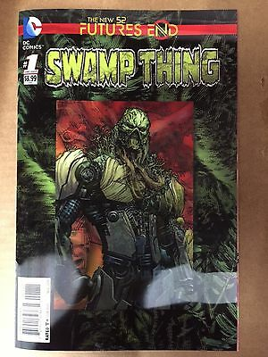 Swamp Thing Futures End #1 Lenticular 3D Cover First Print Dc Comics 2015 New 52