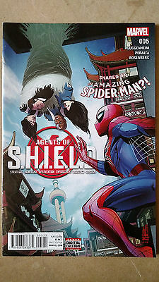 Agents Of Shield #5 First Print Marvel Comics (2016) Spider-Man