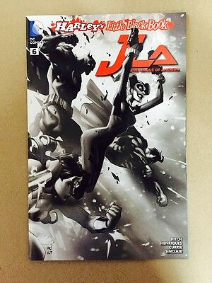 Justice League Of America #6 Harley Quinn Ink Variant 1St Print Dc Comics (2016)