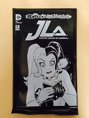 Justice League Of America #6 Bagged Harley Quinn Variant 1St Print Dc (2016)