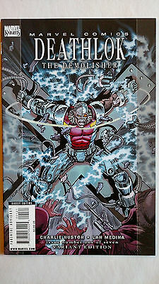 Deathlok The Demolisher #1 1St Print Variant Marvel (2010)