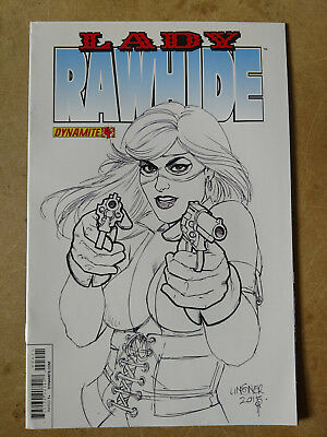 Lady Rawhide #4 Sketch Variant First Print Dynamite Entertainment (2013)