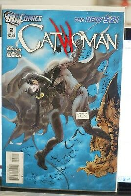 Catwoman Vol4 #2 Dc Comics First Print (2011) Batman