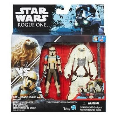 New Hasbro Star Wars Rogue One: Moroff & Scarif Stormtrooper Squad Leader B7261