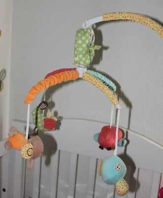 Living Textiles Baby Cot Mobile & Spiral Hopscotch Theme pick only ASHFIELD 2131