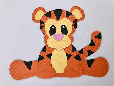 Tigger - fully assembled die cut / paper piecing