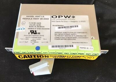 OPW Site Sentinel VSmart Module 0347 I.S. 20-4344 - 4  Channel Port Expansion