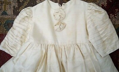 Beautiful Vintage Children's Christening Dress Antique Very Old Handmade Sweet