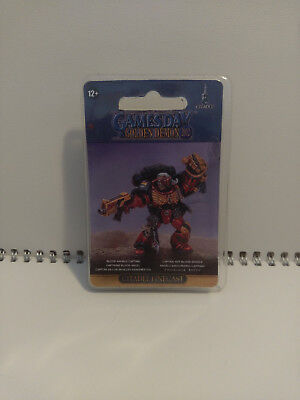 Gamesday 2012 Space Marine Blood Angels Captain Miniature [Sealed]