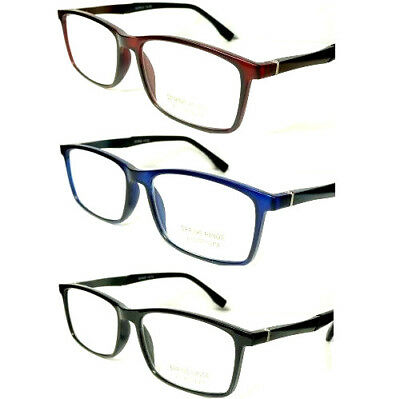 New Mens Womens Ladies Quality Reading Glasses With Aluminium Spring Hinges