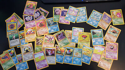 Pokemon Karten Sammlung 300+ Base Basis Set Dschungel Fossil First Edition Erste