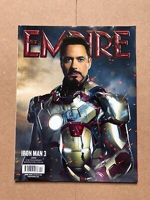 Empire Magazine Issue 286 April 2013 - Iron Man 3 - Subscriber Cover - Brand New