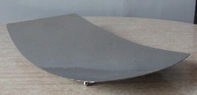 Vintage LRI BORROWDALE Hand Beaten Stainless Steel Dish •● Arts & Crafts