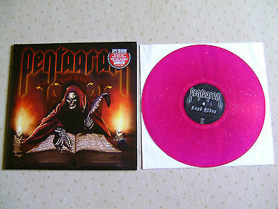 Pentagram Last Rites LP Hot Pink Sparkle Poster Ltd 200 Doom Metal Saint Vitus