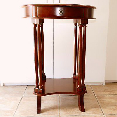 PALM SPRINGS Furniture Small Table Vintage Style Reproduction Mahogany Finish