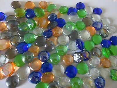 Glass Nuggets  Glass Stones 480+ Mixed Colours Mosaics Vases Crafts Weddings
