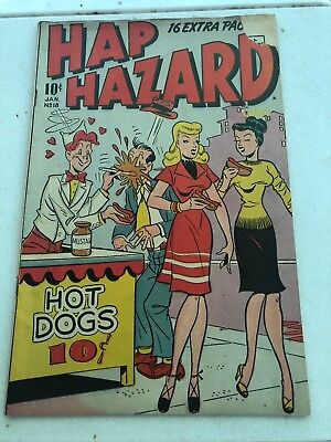 Hap Hazard Comics Jan 1948 #18 Comic Book