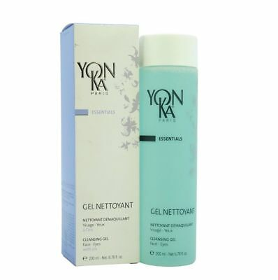 Yonka Gel Nettoyant Cleansing Gel for Face and Eyes, 200 ml / 6.76 oz Exp 11/202