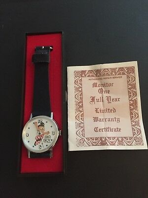 Vintage Big Boy Watch, Swiss made, Great Condition in case