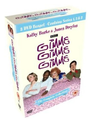 GIMME GIMME GIMME ~ Complete Collection British Comedy Series 1 2 3 DVD Box Set