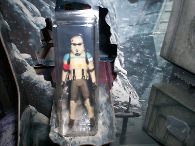 Star Wars 3.75 Rogue One SCARIF STORMTROOPER SQUAD LEADER Loose Mint W/ Case