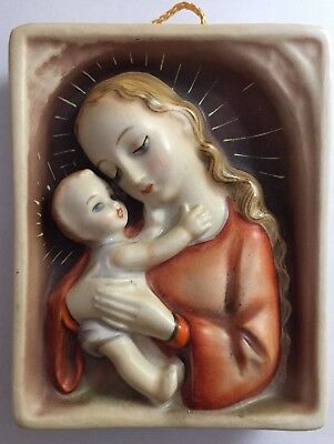 Hummel Plaque - Virgin and Child - Made in Germany