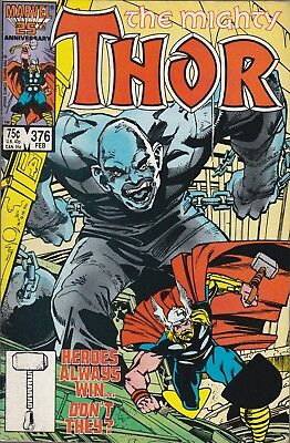 Mighty Thor #376 (Feb 1987, Marvel Comics) Absorbing Man***VG/FN
