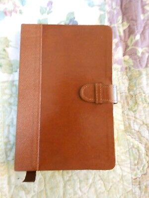 Gorgeous Elegant  Leather Bound  Journal With Velum Pages