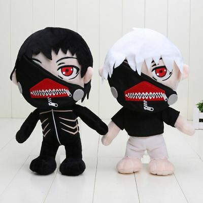 "UK Seller Tokyo Ghoul Kaneki Ken 12""/30cm Large Plush Toy Doll with Mask"
