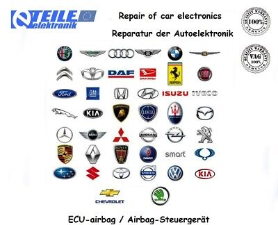 Reparatur von Elektronik / repair of electronics  ECU airbag FIAT BRAVO