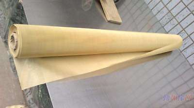 """Lab  Brass  Woven Wire 100 Mesh 150 Micron Filter Sift Screen  12""""x36"""" new"""