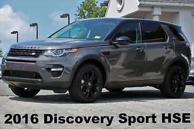 """Land Rover Discovery Sport HSE 2016 Navigation Panorama Roof Rear View Camera 19"""" Wheels Gray Auto AWD Like New"""