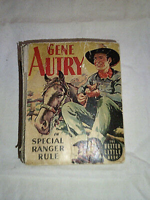 """Vintage """"Gene Autry"""" The Better Little Book from 1945"""