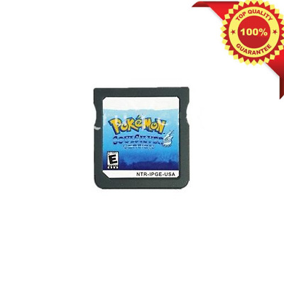 Pokemon: SoulSilver Version DS 3DS English Console Video Game Play Now !