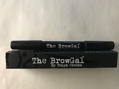 The Browgal  by Tonya Crooks  Double ended Highlighter Pencil Gold/Nude