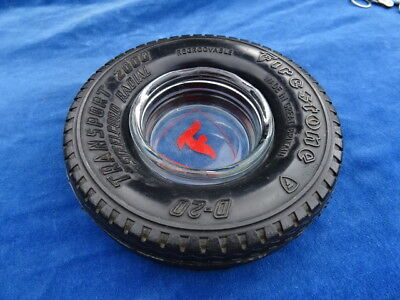 CENDRIER / Ashtray - VINTAGE - FIRESTONE D-20 TRANSPORT 2000 - TOP++++ !