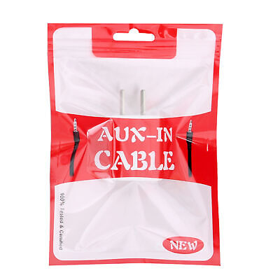 AUX-IN CABLE Red Flat Open Top Zipper Bag With Butterfly Hanghole Multiple QTY