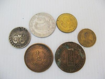 2569*  lot pieces indochine , chine anciennes